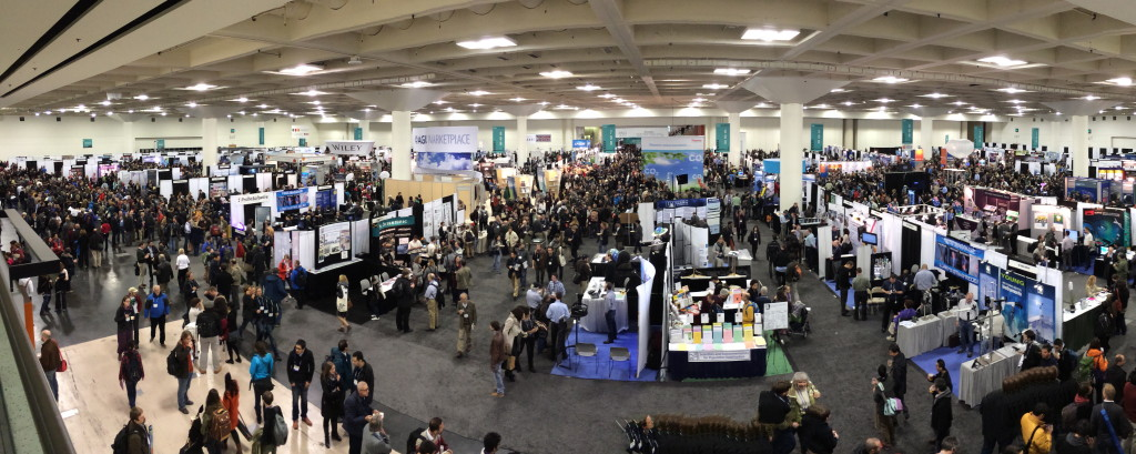 2013 American Geophysical Union (AGU) Joint Assembly Meeting exhibit hall